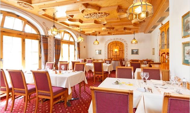 Restaurant Föhrenstube, Derby Hotel Grindelwald